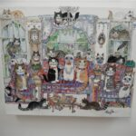 """The Cats Parlour 10x8""""  £125"""